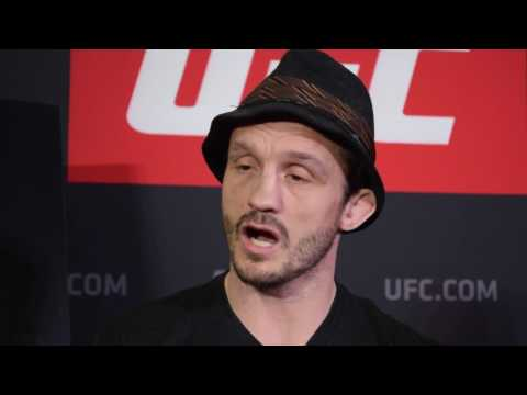 Brad Pickett scrum