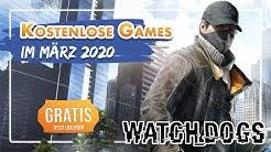 KOSTENLOS: GAMES die ihr im März 2020 gratis bekommt!