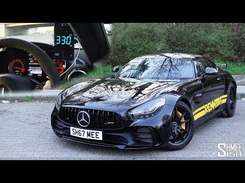 TOP SPEED! Over 200mph in My RENNtech AMG GT R!   EXPERIENCE