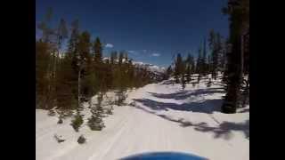 Big Sky Montana Skiing Trip