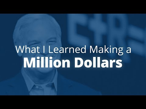 3 Things I learned After Making a Million Dollars | Jack Canfield