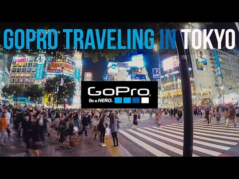 GoPro Traveling in Tokyo( Featuring HERO5 voice control)