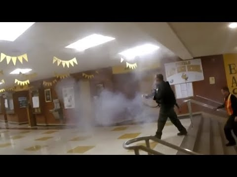 Active Shooter Training bring Gunfire and Explosions at Pueblo's East High School