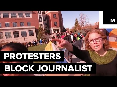 University of Missouri Professor Calls For 'Muscle' Against Reporter