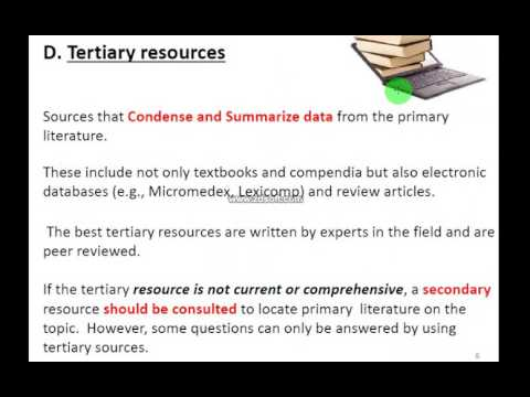 Drug Information Resources and Literature Retrieval, part 1, Dr Salwa