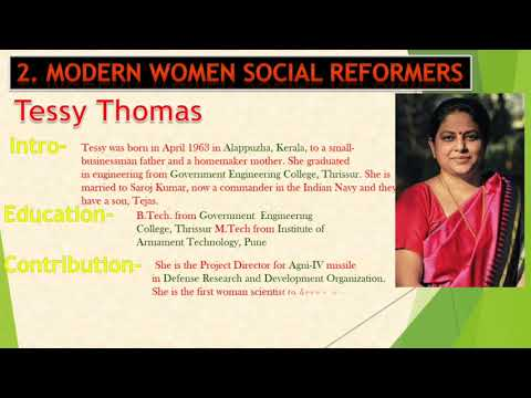 Ppt on women social reformers for school project