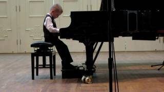 2013 First performance of Rodion Shakirov at the concert of Mira Marchenko' class students