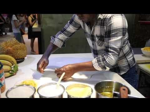 Shenzhen Street Food   Pineapple Roti Pancake China