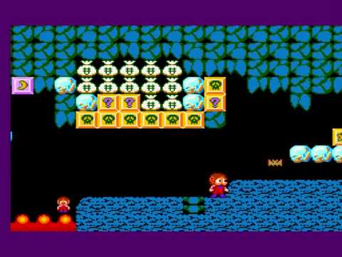 Alex Kidd in Radaxian Rumble Romhack (Demo) - Gameplay