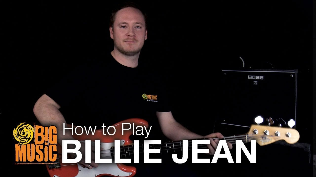 How to Play - Billie Jean on Bass