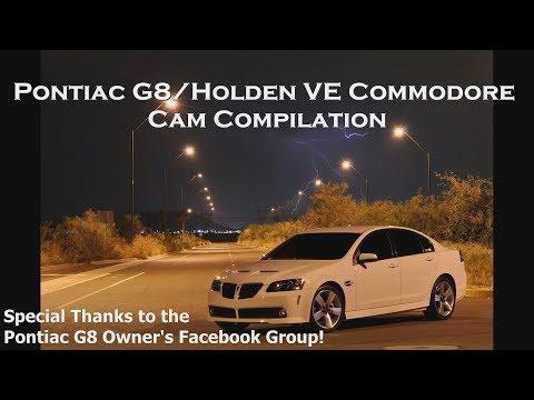 Ultimate Pontiac G8 GT/GXP Cam Compilation