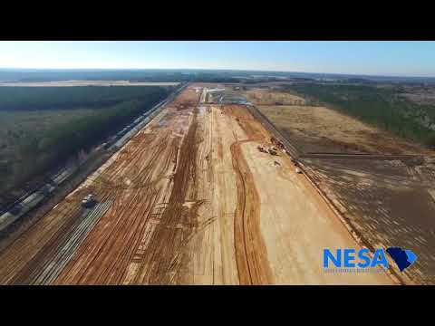 Inland Port Dillon Construction Update