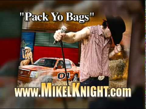 "MIKEL KNIGHT-""PACK YO BAGS"" (The King of Country Rap) MTV's BUCKWILD"