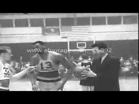 1965-66 Sixers vs. Pistons (Highlights)