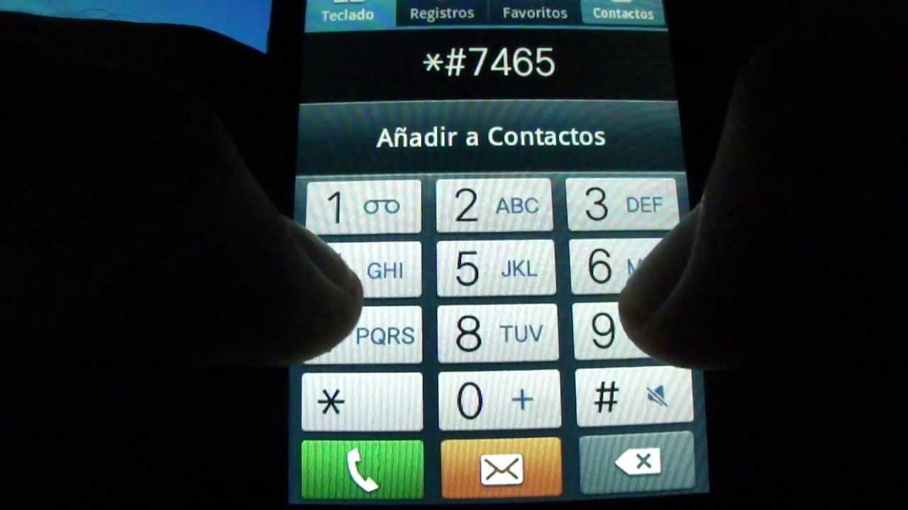 Samsung Galaxy Hidden service menu Codigos secretos Android