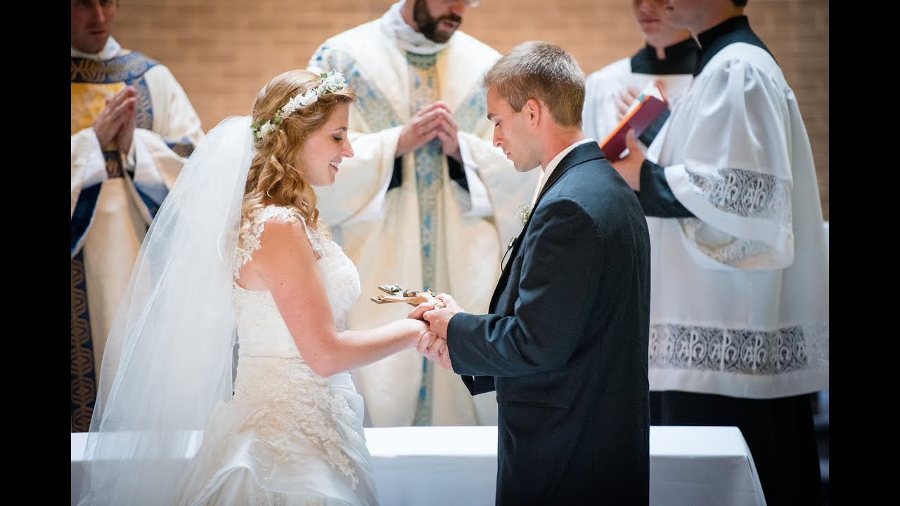 Our Wedding: Stacey and John Sumereau - YouTube