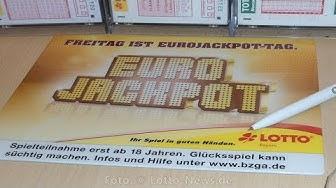 Eurojackpot Ziehung am Freitag - Gewinnzahlen vom 30.6.2017