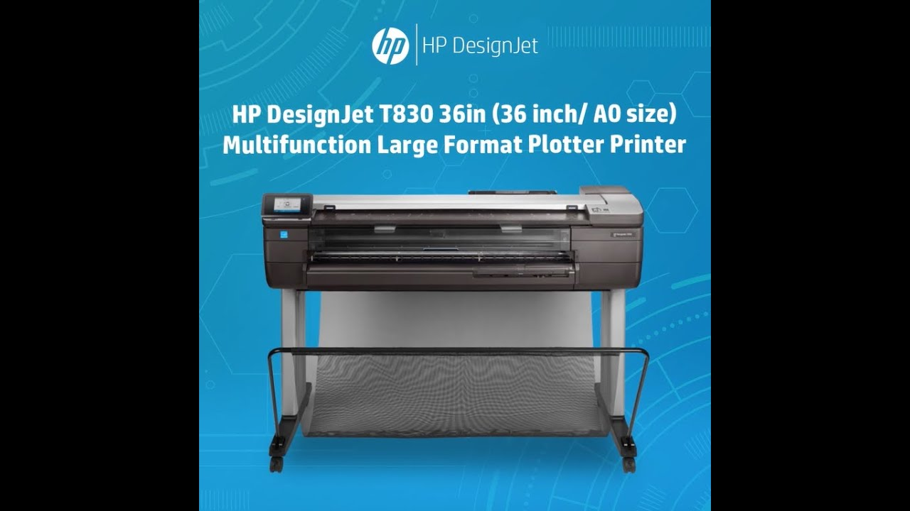 HP DesignJet T830 36in (36 inch/ A0 size) Multifunction Large ...