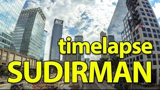 Timelapse Sudirman Jakarta Beautiful City Using Xiaomi Yi