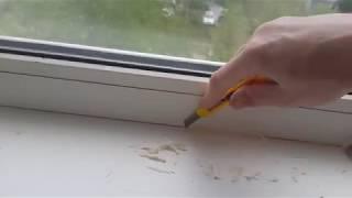 Как и чем убрать силиконовый герметик с пластиковых окон
