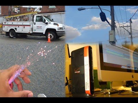 Verizon FiOS Block Installation Process and My FiOS Experience