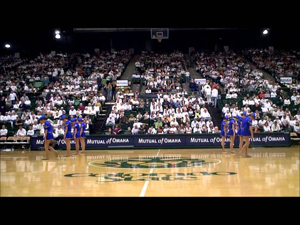 2013 Golden Girls CSU vs UNLV Mens Basketball game ...