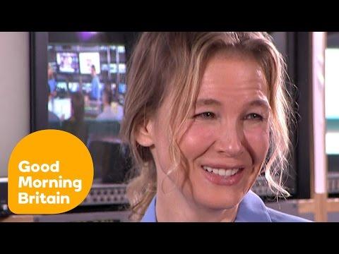 Renée Zellweger On Bridget Jones's Baby And Filming At GMB! | Good Morning Britain