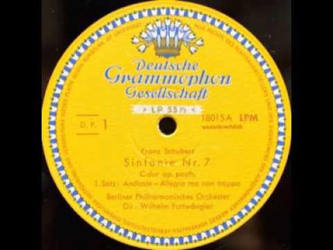 Schubert Symphony 9(8): Wilhelm Furtwängler, Berliner Philharmoniker, 1951