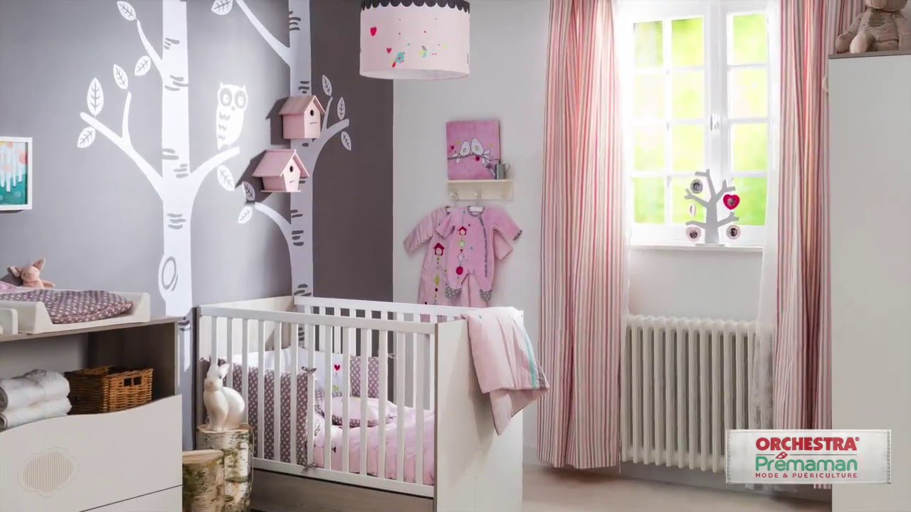 Chambre Nal by Sauthon Easy  Textile Little Birds by Prmaman  YouTube