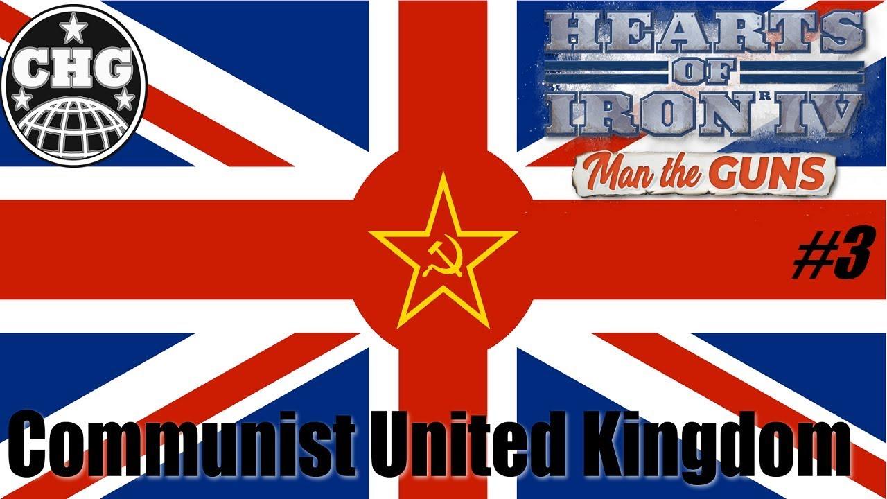 HOI4: Man The Guns - Communist United Kingdom #3 - Math Time!