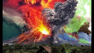 Volcanic Ring of Fire Erupts-Ocean Dramatically Recedes-Climate Chaos Escalates