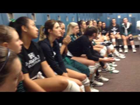 Hawai'i WVB NCAA 1st Rd Highlights   UH vs  USC