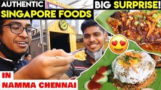 UNEXPECTED Singapore Food in Chennai - Revisiting Singapore - Anna Nagar | Tamil | Idris Explores