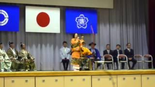 田中美奈子さんによるスピーチです。