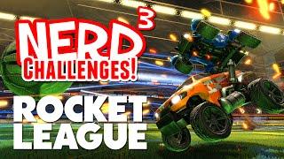 Nerd³ Challenges! On Ice - Rocket League