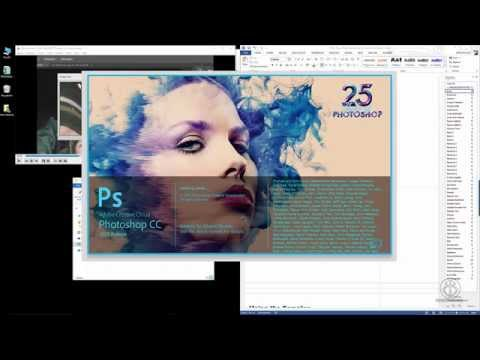 Photoshop CC Interface Enlargement