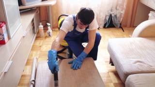 видео Где сделать химчистку диванов