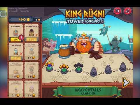 King Rugni Tower Defense (Gameplay Walkthrough)