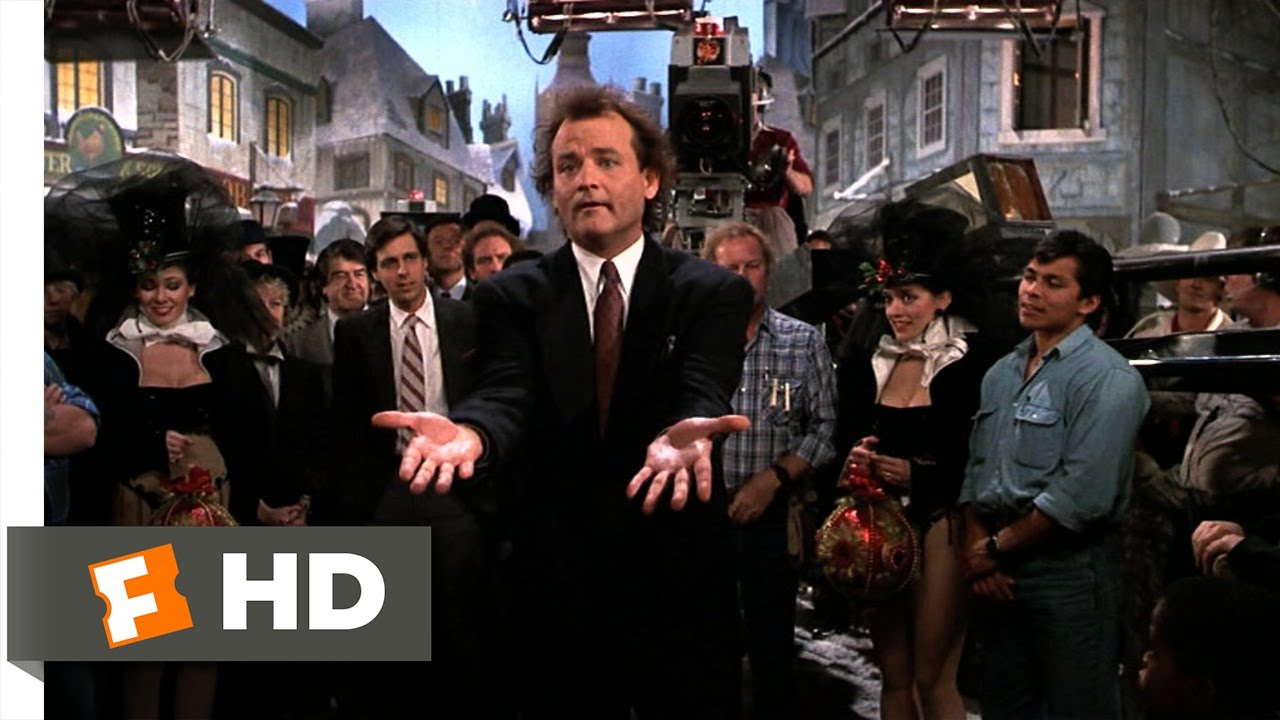 A Christmas Miracle.A Christmas Miracle Scrooged 10 10 Movie Clip 1988 Hd
