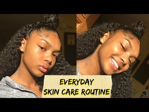 AFFORDABLE EVERYDAY SKIN CARE ROUTINE!