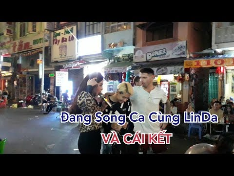 Long N-TN Đang Song Ca Cùng LinDa Bỗng Anh Tây Xuất Hiện Và Cái Kết Sấp Mặt