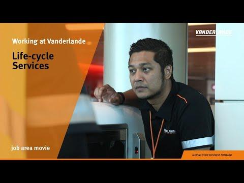 Life-cycle Services | Job Area movie | Vanderlande