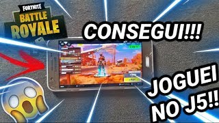 Got!!! I PLAYED FORTNITE NO J5 (ANY MOBILE) WITHOUT APK HACK!!!