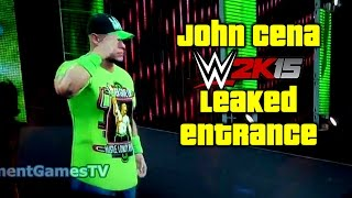 wwe 2k15 first footage bad quality