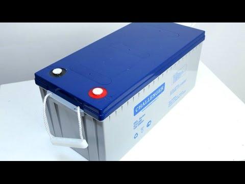 Аккумулятор Challenger G12 200 (GEL) Емкость 200 a/h