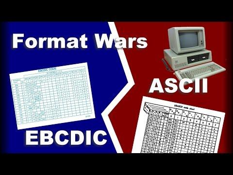 Format Wars: ASCII vs EBCDIC
