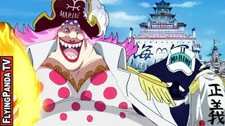 BIG MOM The Marine FLEET ADMIRAL? | The Marine Orphans | One Piece chapter 905+