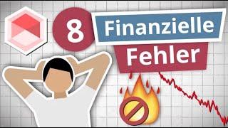 8 häufige Anlegerfehler und wie du sie vermeidest! | mit Talerbox