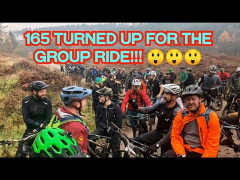 165 TURNED UP FOR THIS GROUP RIDE!!!