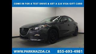METEOR GREY MICA(42A) 2014 Mazda Mazda3 GX-SKY Sedan AT GX-SKY Review Sherwood Park Alberta - Park M